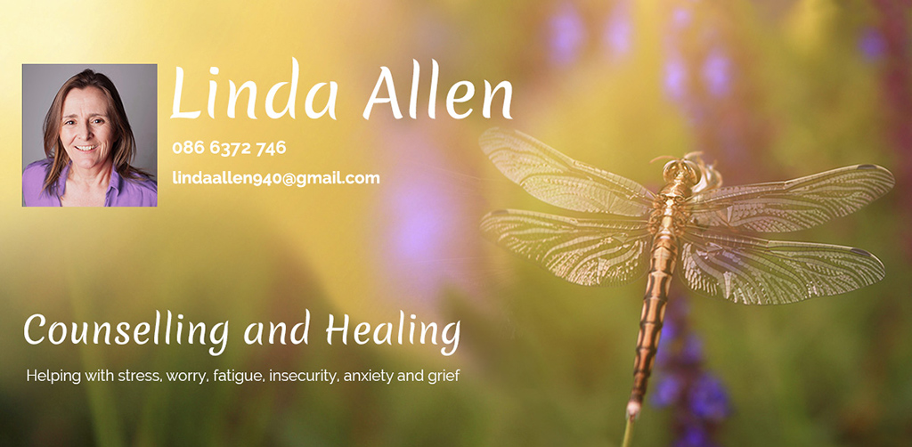 Linda Allen Counselling and Healing, Helping with Stress Worry Fatigue Insecurity Anxiety and Grief
